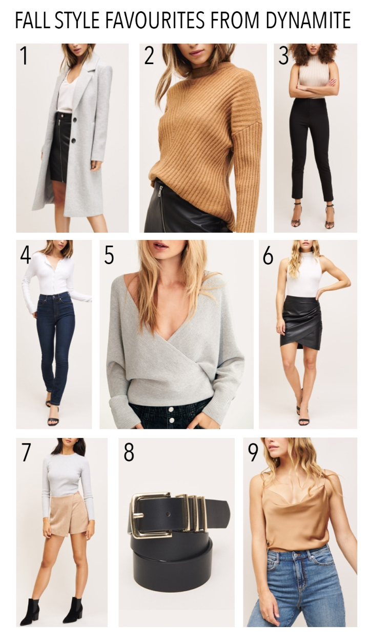 Fall Style Favourites fromDynamite