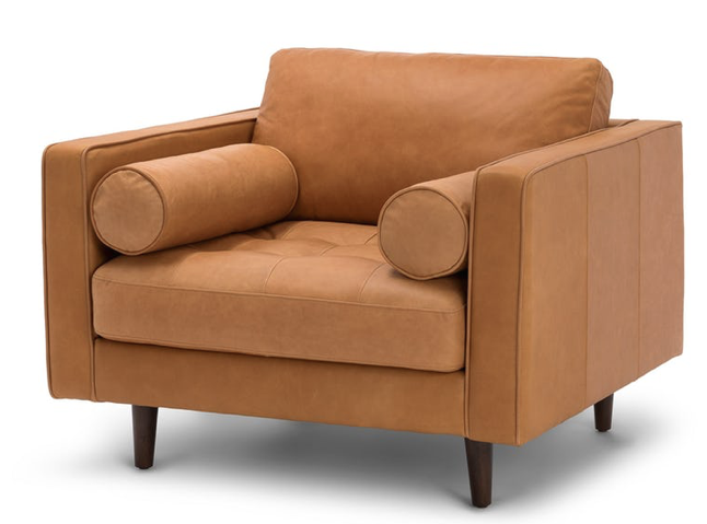 The Perfect Mid-Century Modern Arm Chair : The Look For Less
