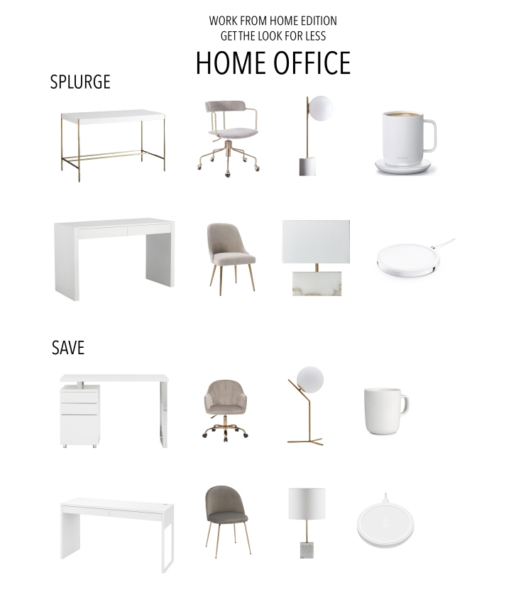 Home Office : The Look For Less – Work From Home Edition – His & Hers