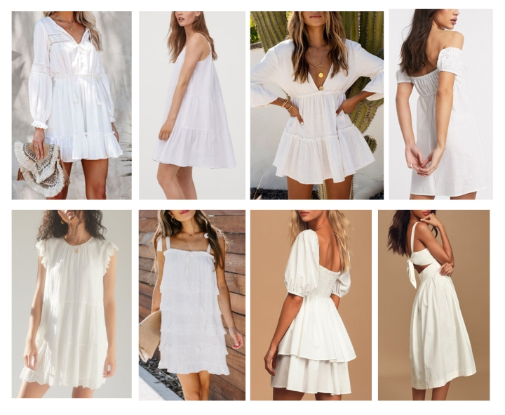 Summer Style Essentials: The Little White Dress & Neutral Sandals