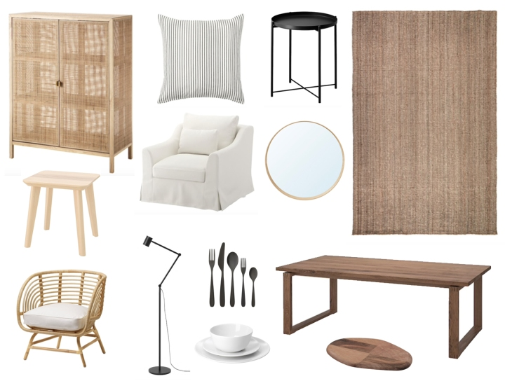 The Best of IKEA: Black, White & Natural Pieces That Look More Expensive Than They Actually Are