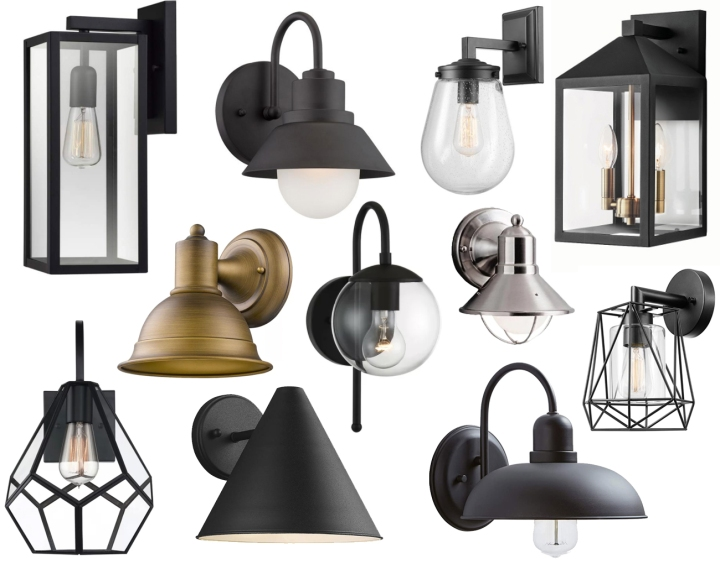 Simple Home Updates : Outdoor Wall Sconces Under $100