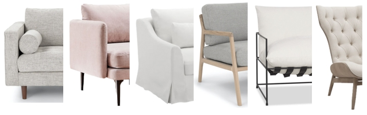 Sunday Favourites: Six Perfectly Neutral Accent Chairs for Sunday Lounging