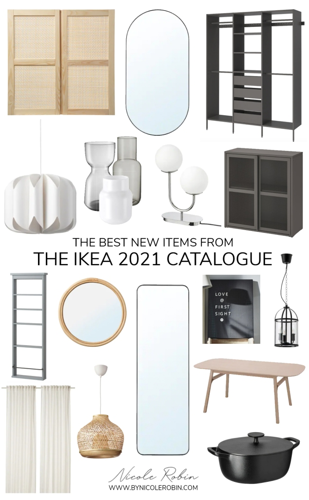 The Best New Items from the IKEA 2021 Catalogue. Black, White, Natural and Neutral Items that look more expensive than they really are. Designer Ikea Favourites