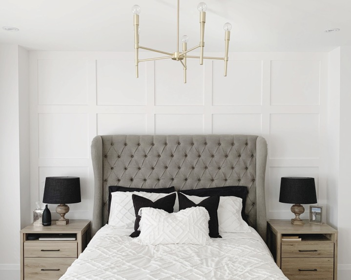 Our DIY Master Bedroom FeatureWall