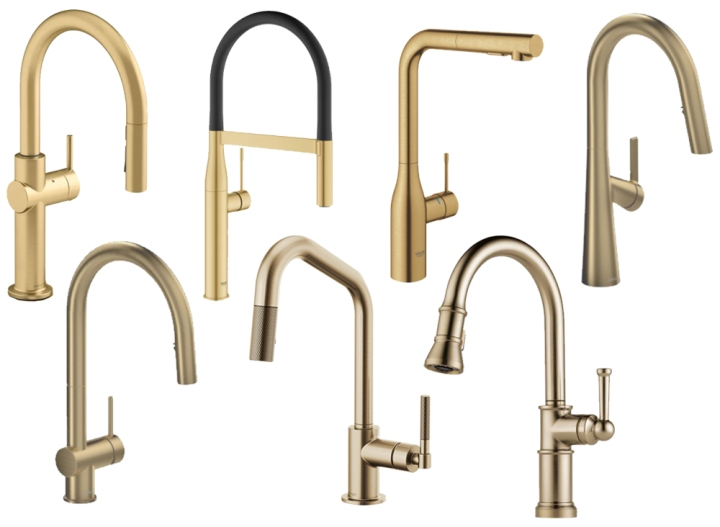 Brass Kitchen Faucets for Every Budget