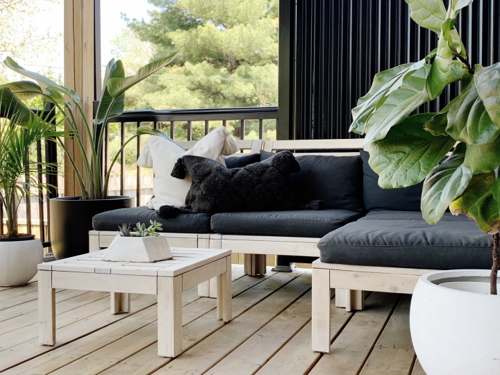 How I Transformed My IKEA Applaro Outdoor Furniture To Get That Restoration HardwareVibe